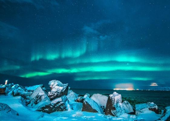 The spectacular Aurora Borealis in Lapland