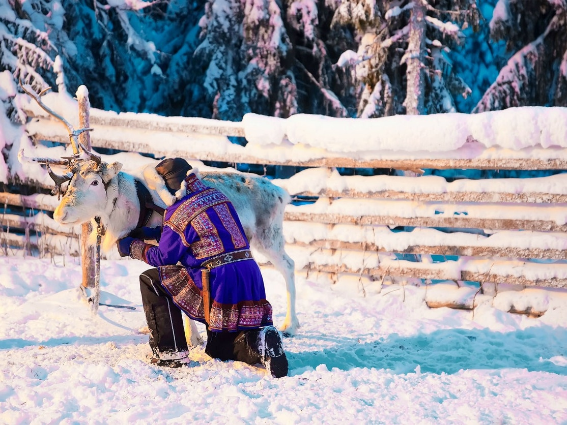 Sami People in Lapland