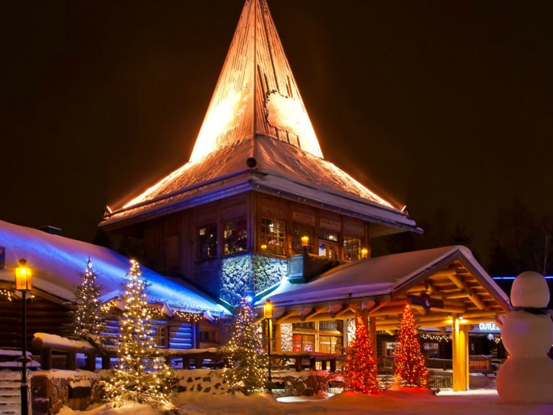 Santa Claus Village in Lapland