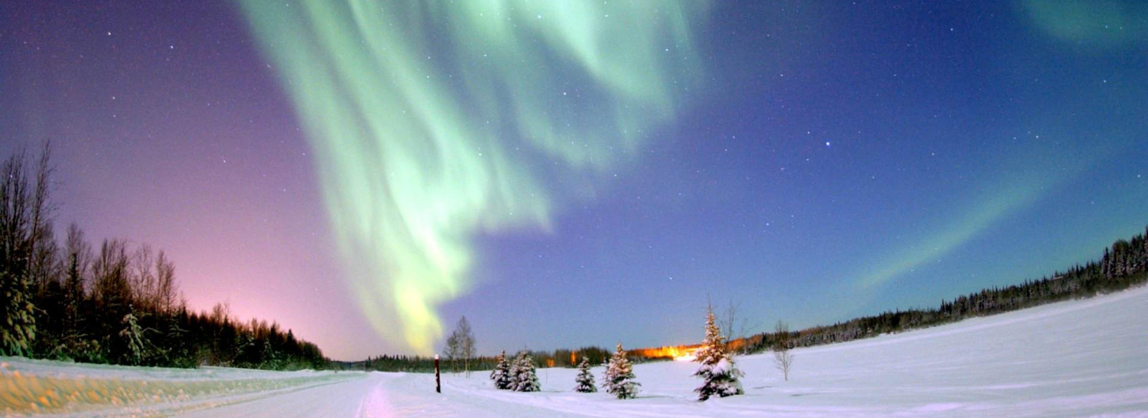 Russia Northern Lights